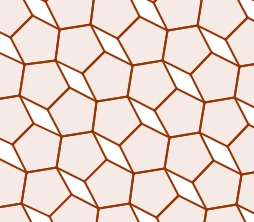 A complicated tessellation of a pentagon